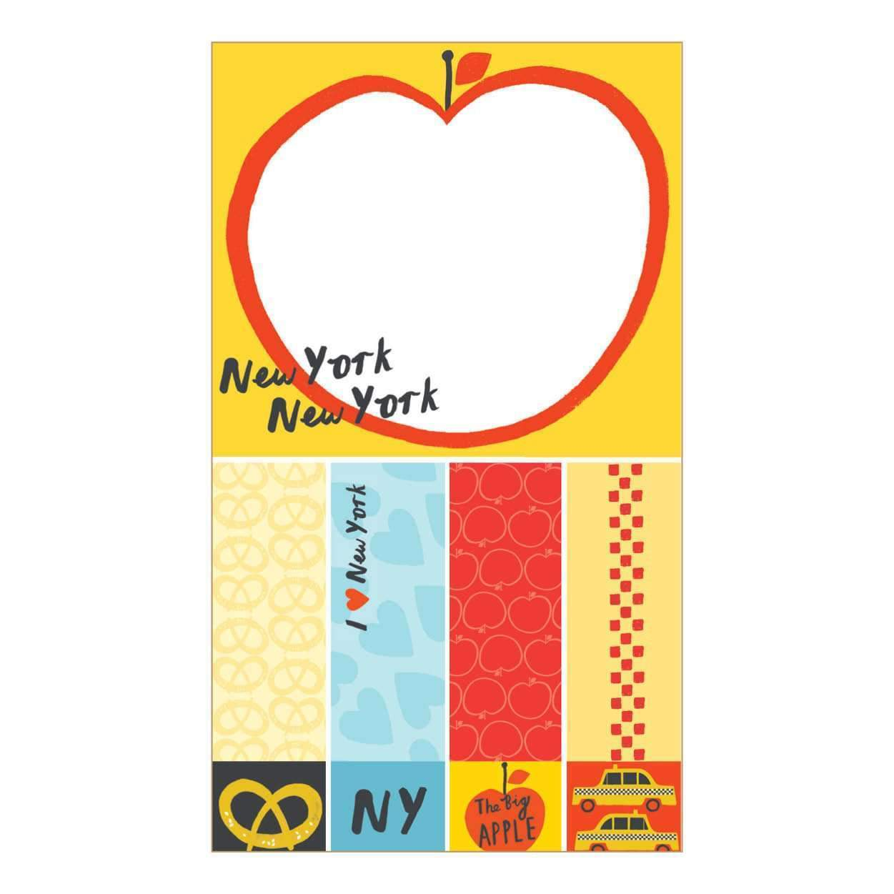 New York The Big Apple Mini Sticky Notes Sale Galison