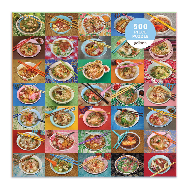 Noodles for Lunch 500 Piece Puzzle 500 Piece Puzzles Galison