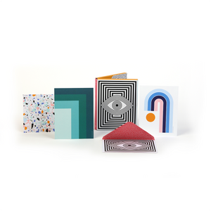 Now House by Jonathan Adler Thank You Notecard Set, Set of 12 Thank You Cards Galison