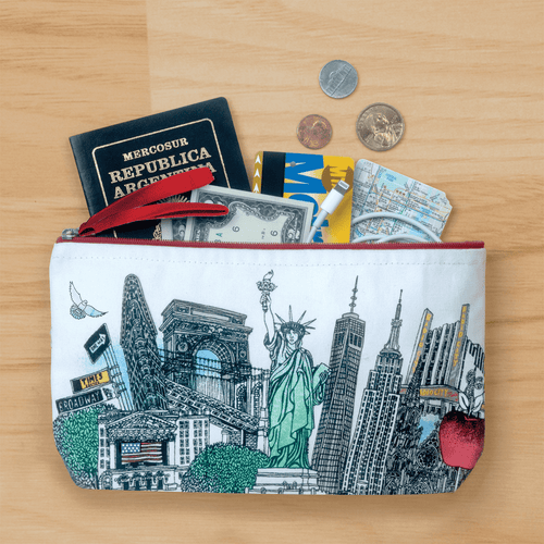 NYC Handmade Pouch Handmade Pouches Galison