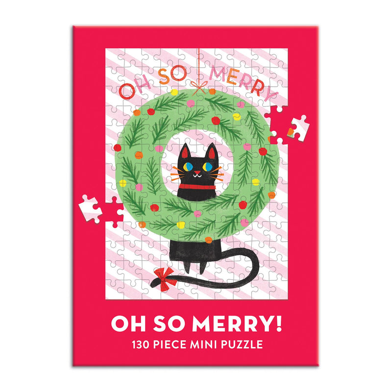 Oh So Merry Mini Puzzle Holiday Mini Puzzles Galison