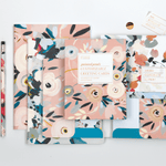 Painted Petals Deluxe Spiral Notebook Journals and Notebooks Galison