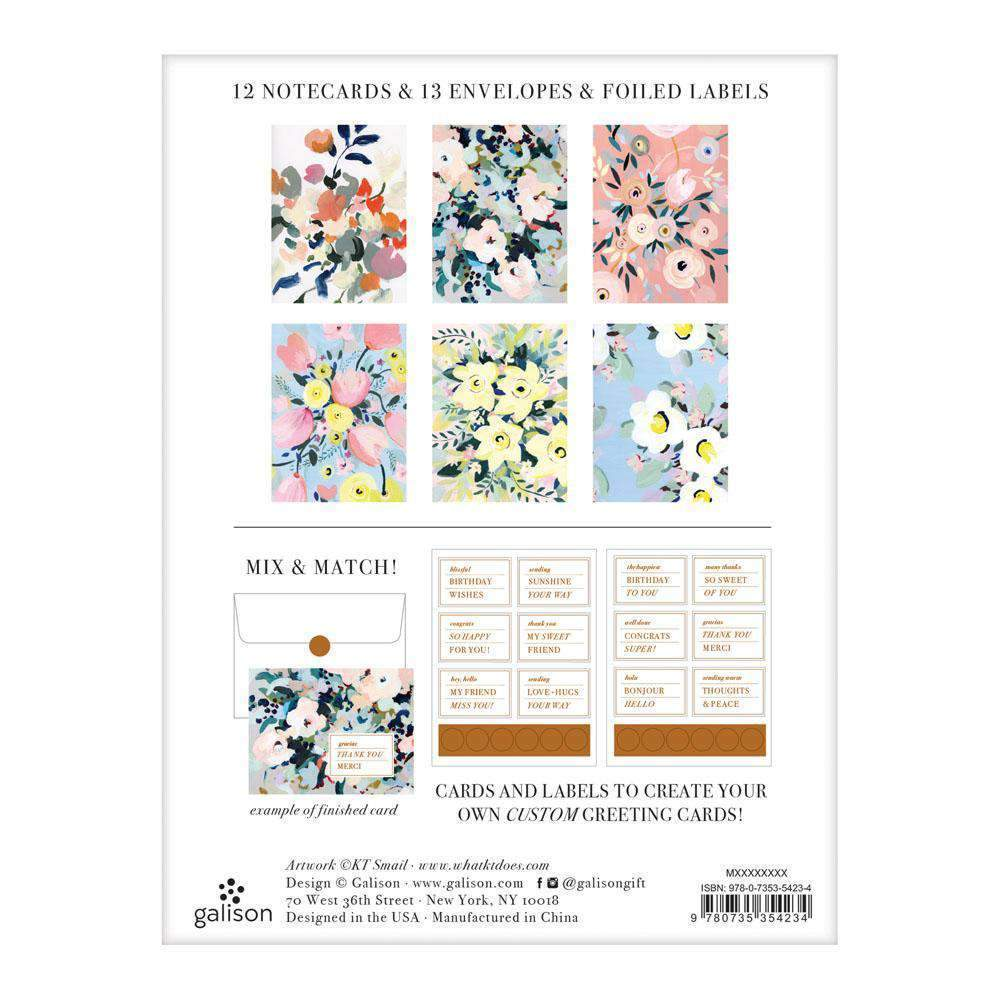 Painted Petals DIY Greeting Card Folio DIY Greeting Cards Galison