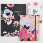 Painted Petals Gilded Undated Planner Planners Galison