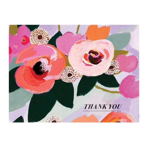 Painted Petals Greeting Card Assortment Greeting Cards Galison