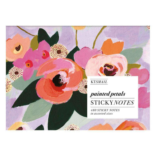 Painted Petals Sticky Notes Sticky Notes Galison
