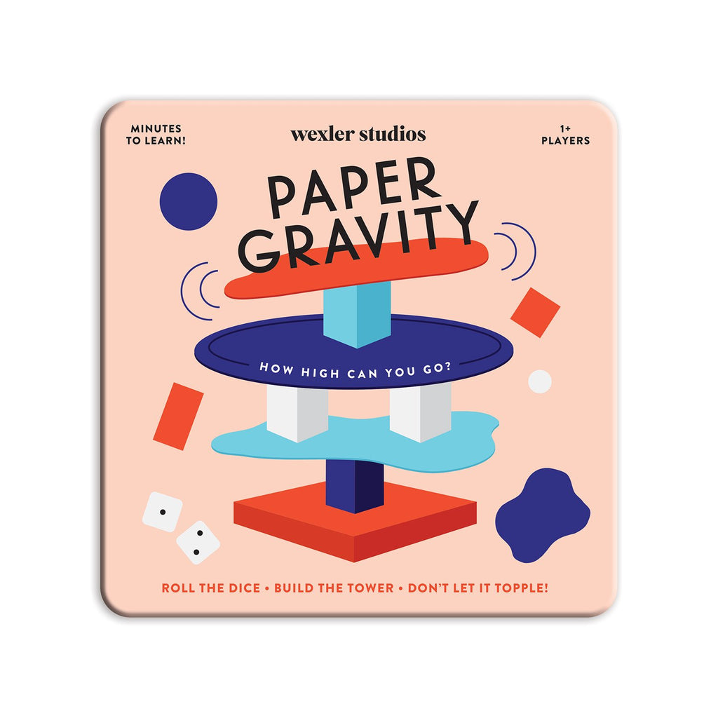 Paper Gravity Game Paper Gravity Games Wexler Studios Collection