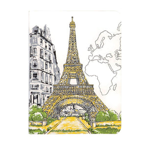 Paris Eiffel Tower Handmade Journal Journals and Notebooks Galison