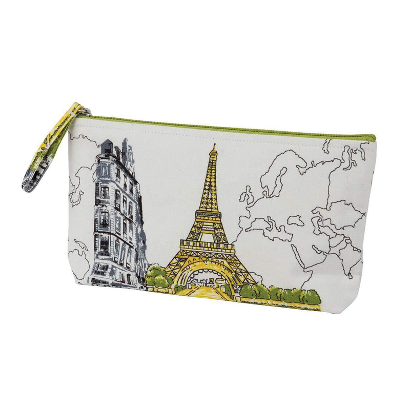 Paris Eiffel Tower Handmade Pouch Handmade Pouches Galison