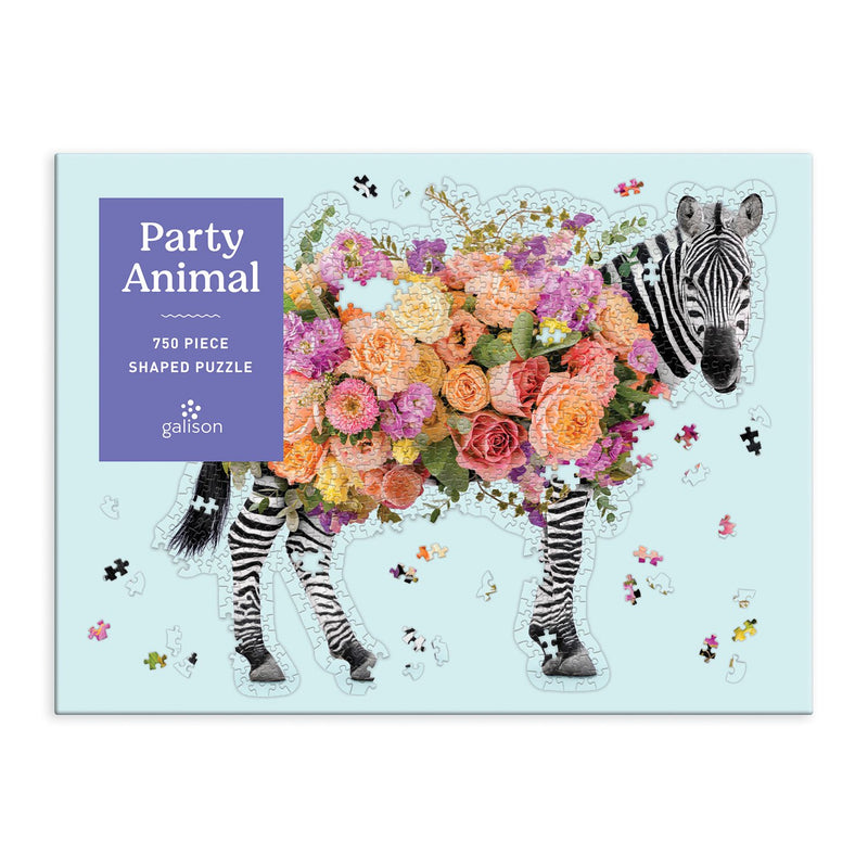 Party Animal 750 Piece Shaped Puzzle 750 Piece Puzzles Paul Fuentes Studio Collection