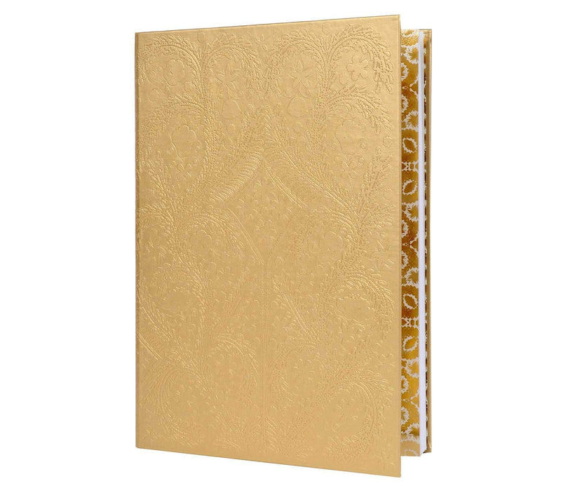 Paseo Gold Hardcover Album Christian Lacroix Home and Gifts Christian Lacroix