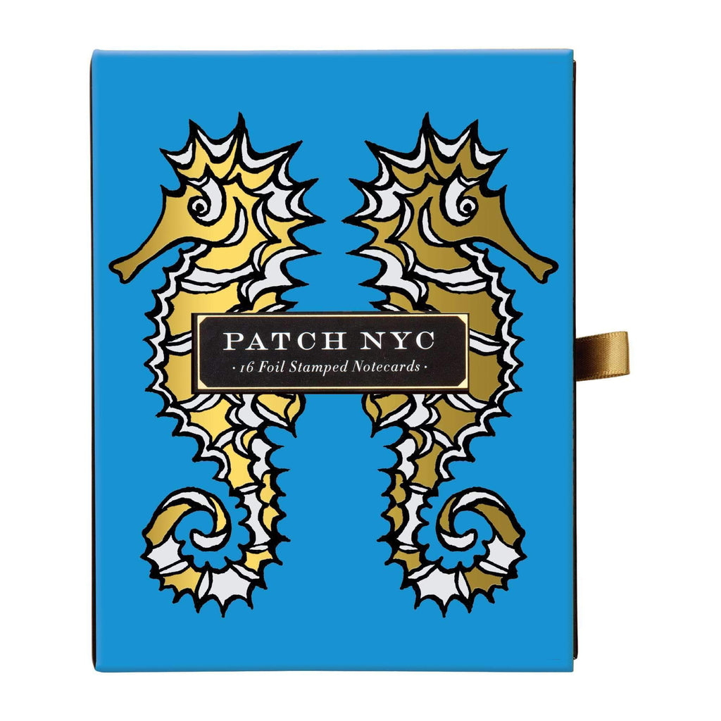 Patch NYC Nautical Greeting Assortment Notecard Set Greeting Cards Galison