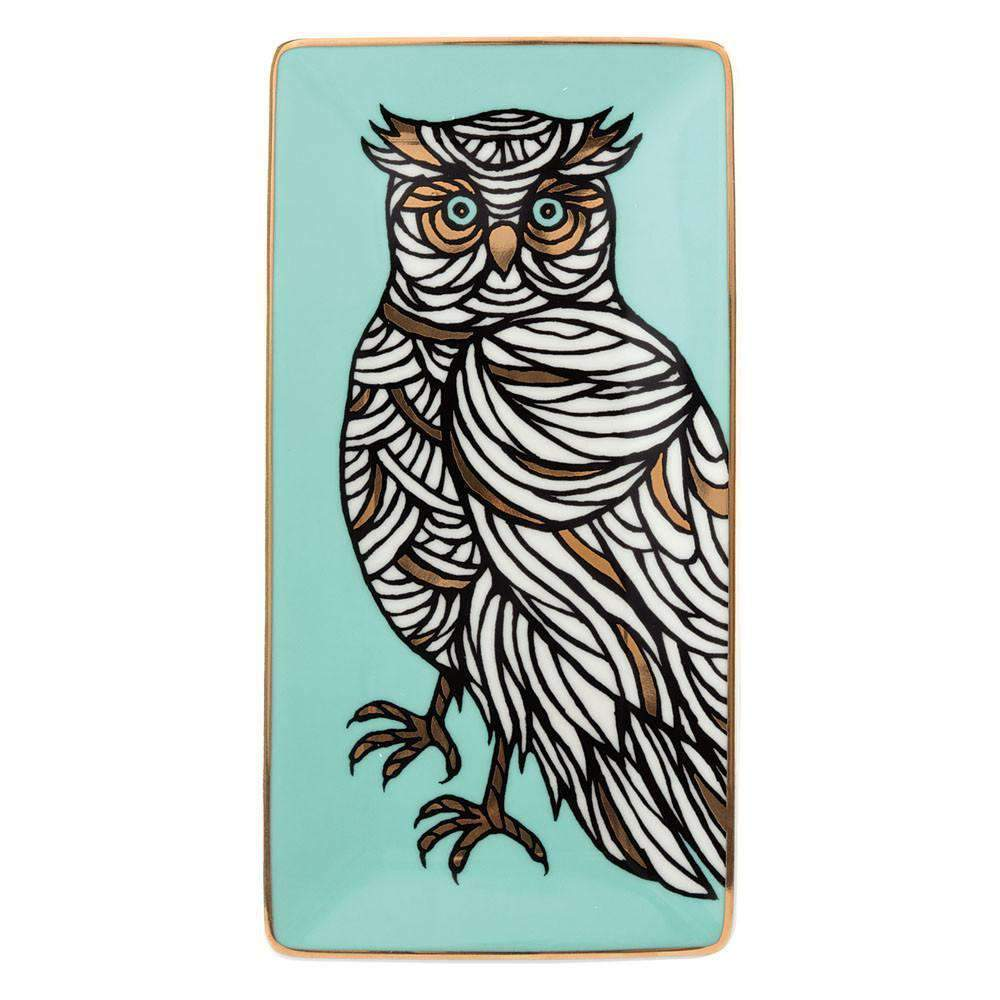 PATCH NYC Owl Tray Porcelain Trays Galison
