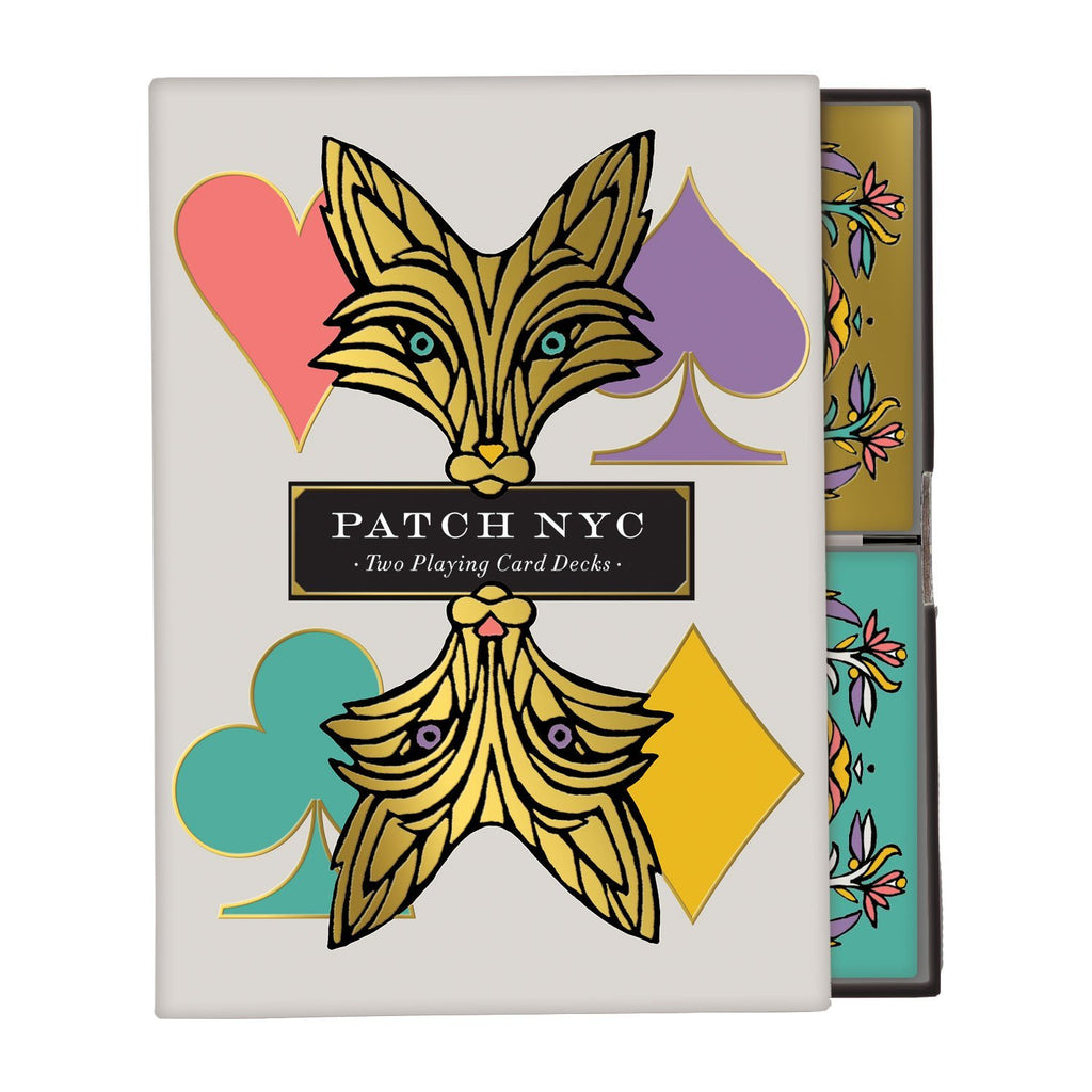 Patch NYC Playing Card Set Playing Cards Galison