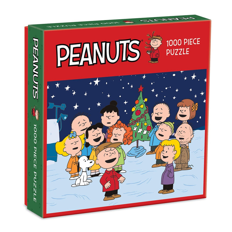 Peanuts Christmas 1000 Piece Puzzle Holiday 1000 Piece Puzzles Galison