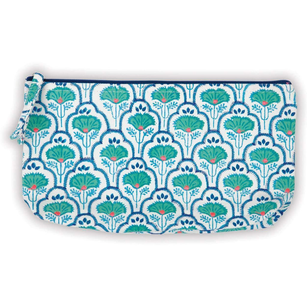 Petal & Vine Handmade Embroidered Pouch Handmade Pouches Galison