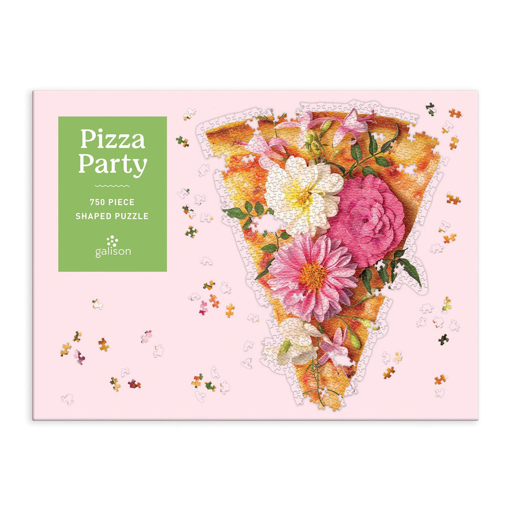 Pizza Party 750 Piece Shaped Puzzle 750 Piece Puzzles Paul Fuentes Studio Collection