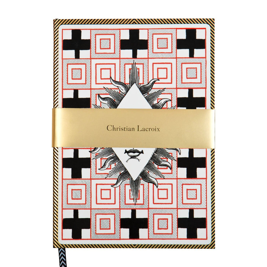 Poker Face A5 Layflat Notebook Christian Lacroix Notebooks and Journals Christian Lacroix