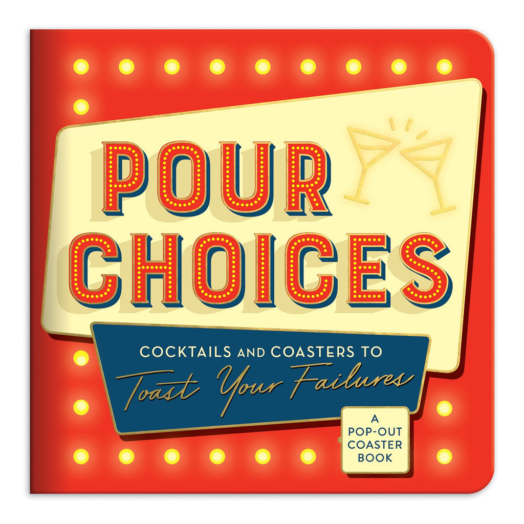 Pour Choices Coaster Book Coaster Sets Galison