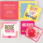 Rose the Riveter Coaster Book Coaster Sets Galison