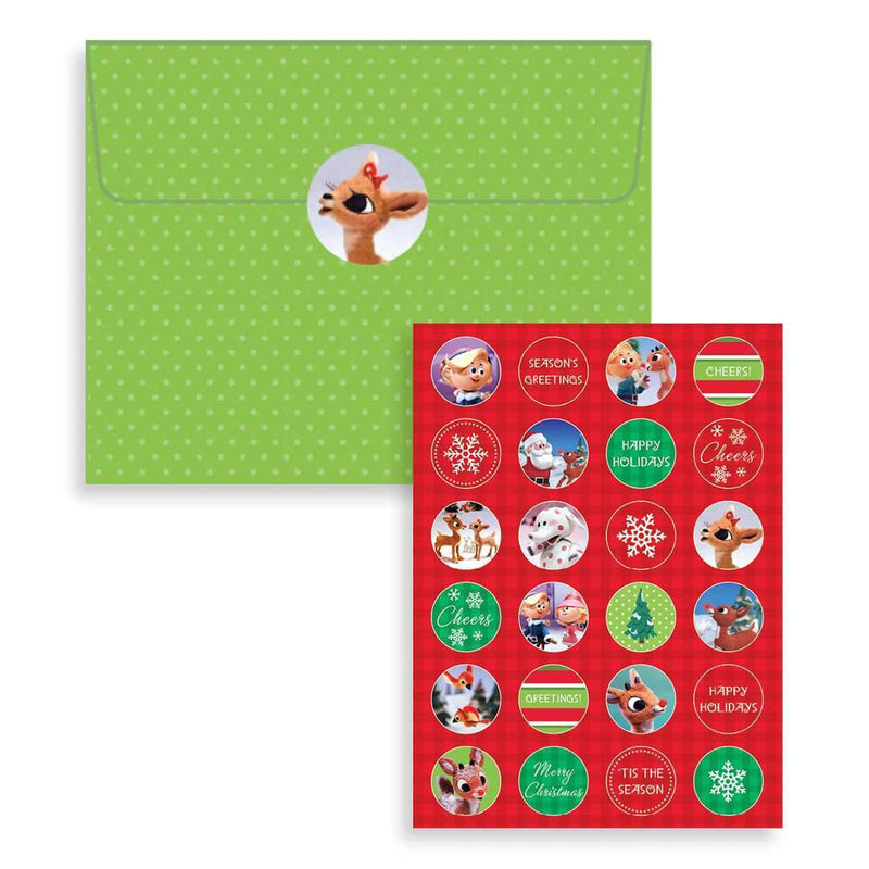 Rudolph Deluxe Notecard Collection Holiday Notecards Galison