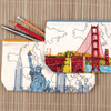 San Francisco Golden Gate Handmade Journal Journals and Notebooks Galison
