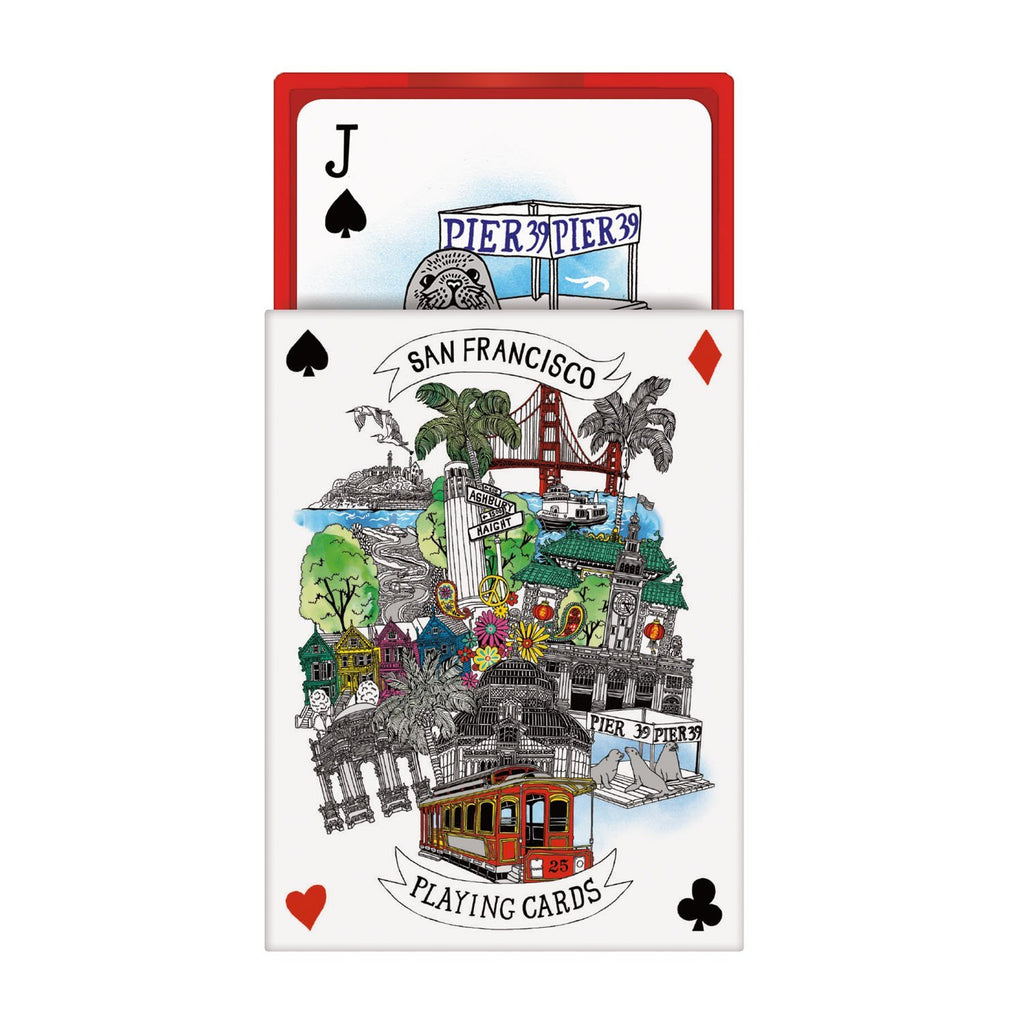San Francisco Playing Cards Playing Cards Galison