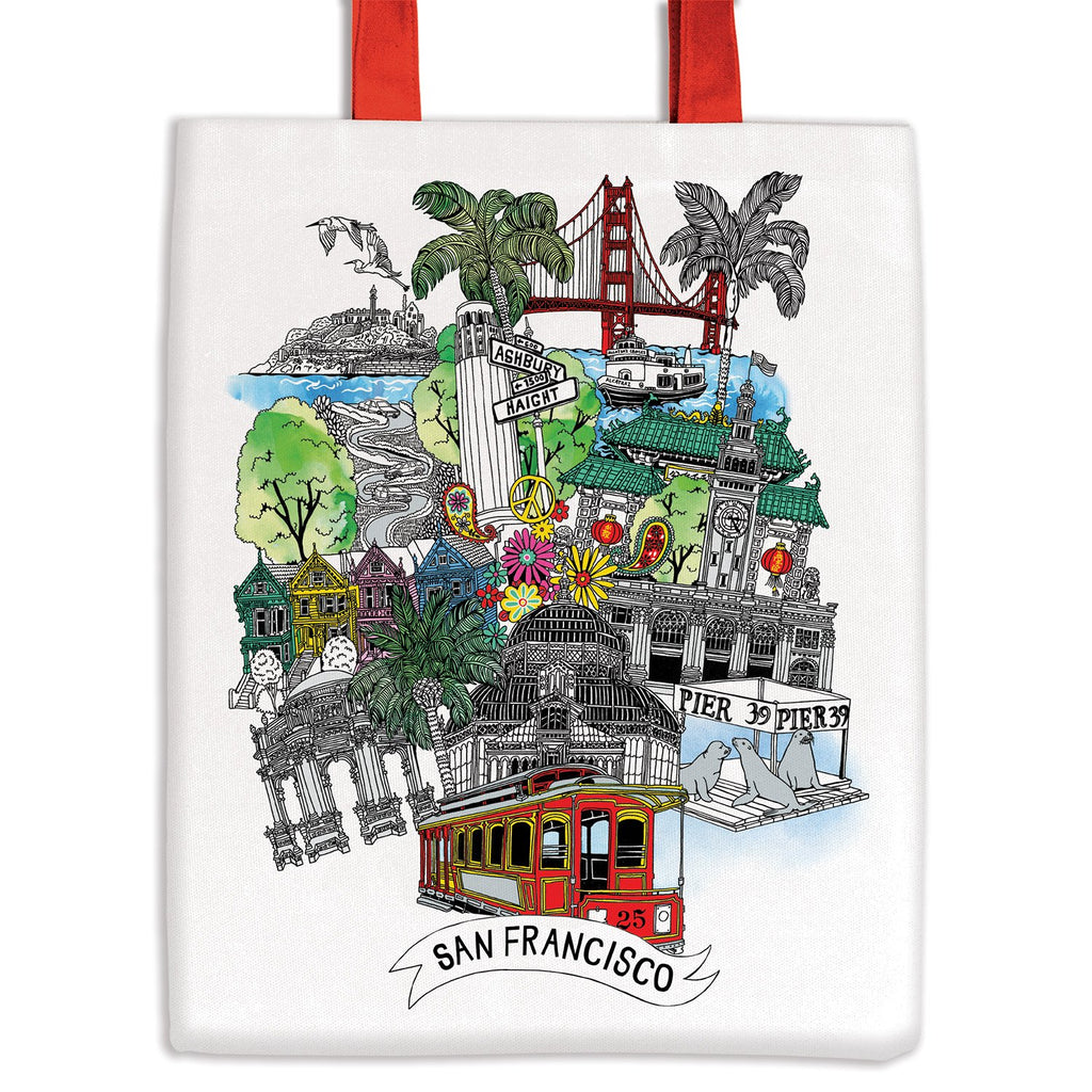 San Francisco Tote Bag Tote Bags Cities Collection