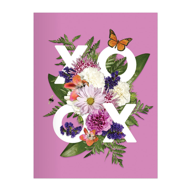 Say It With Flowers Greeting Assortment Notecard Box Greeting Cards Galison