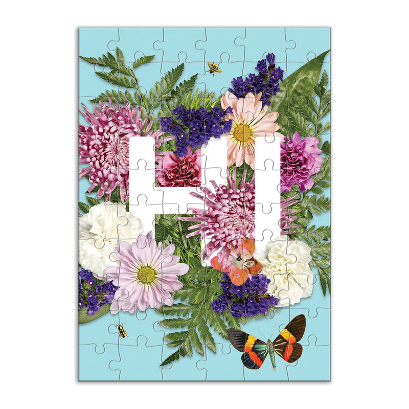 Say It With Flowers Hi Greeting Card Puzzle Greeting Card Puzzles Say it with Flowers Collection