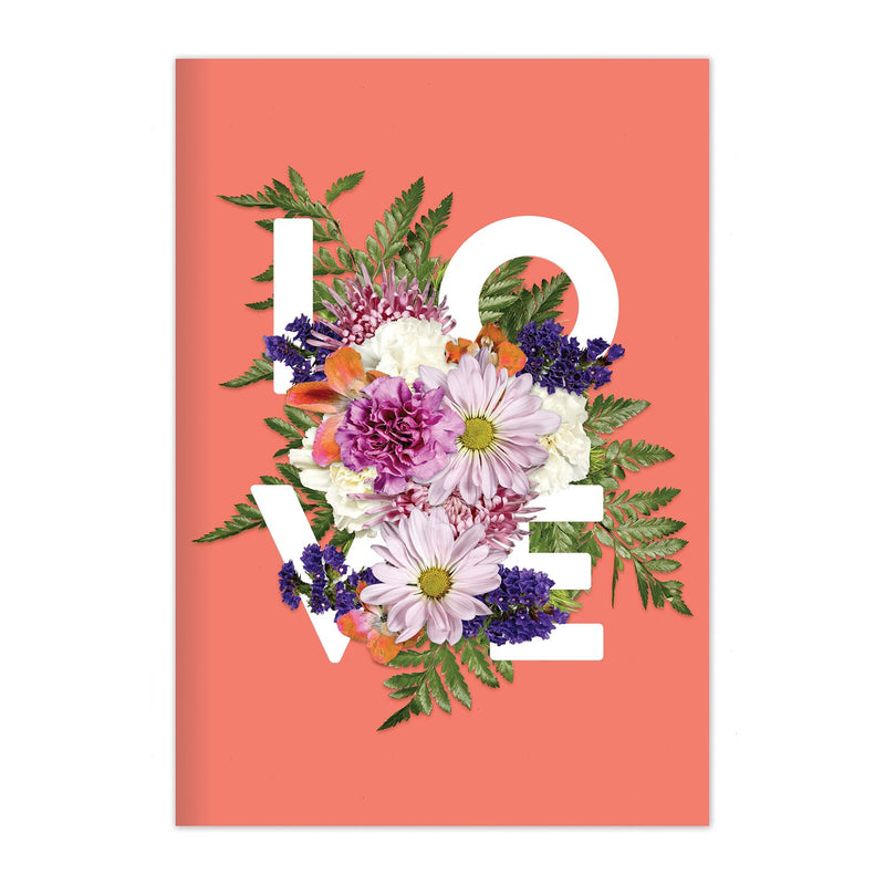 Say It With Flowers Love A5 Journal Journals and Notebooks Galison