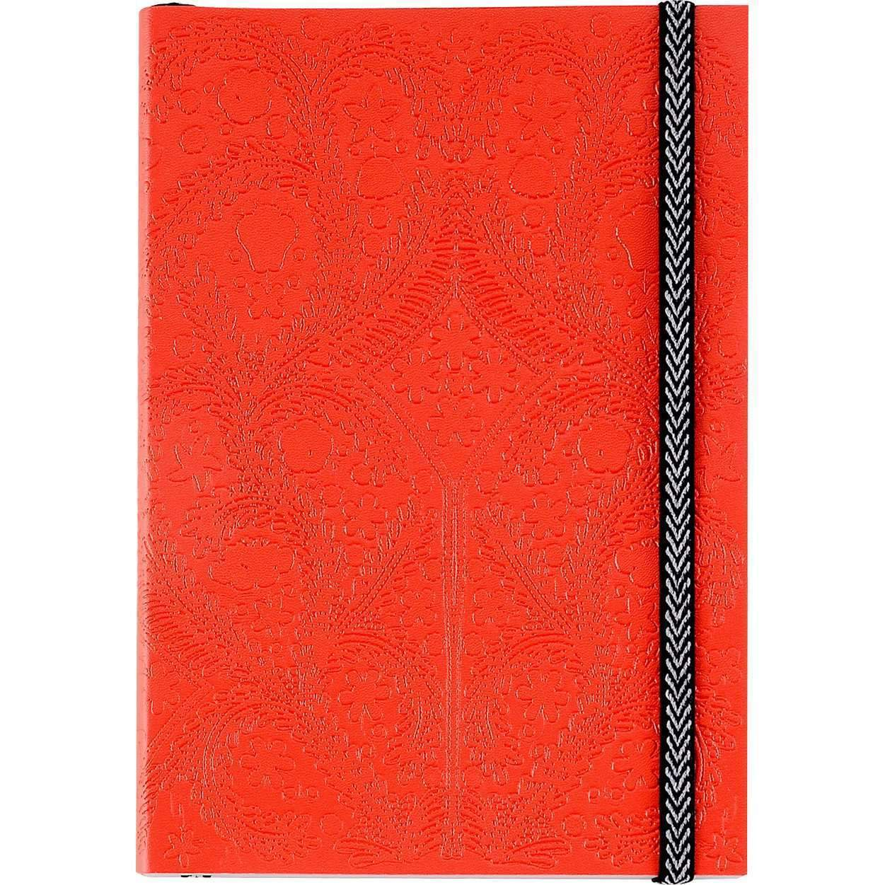 Scarlet Embossed Paseo Notebook Christian Lacroix Notebooks and Journals Christian Lacroix
