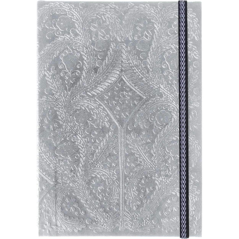 Silver Embossed Paseo Notebook Christian Lacroix Notebooks and Journals Christian Lacroix