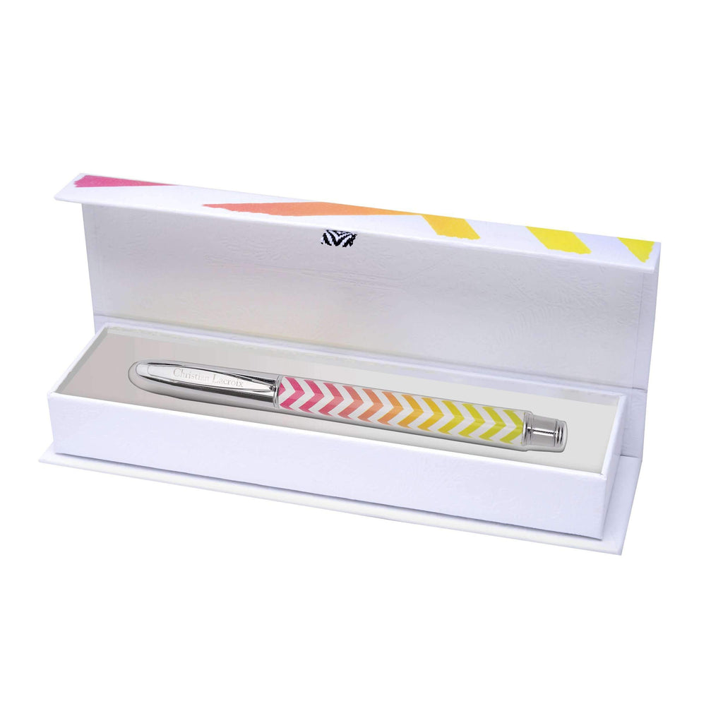 Sol Y Sombra Boxed Pen Sunset Yellow Christian Lacroix Desk Accessories Christian Lacroix