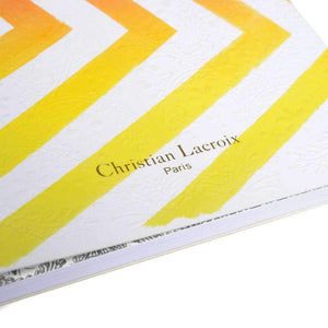 Sol Y Sombra Notebook Sunset Yellow Christian Lacroix Notebooks and Journals Christian Lacroix