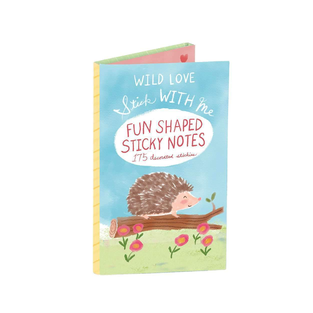 Stick with Me / Wild Love Shaped Sticky Notes Sale Galison