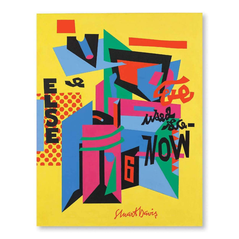 Stuart Davis Portfolio Notes Sale Galison