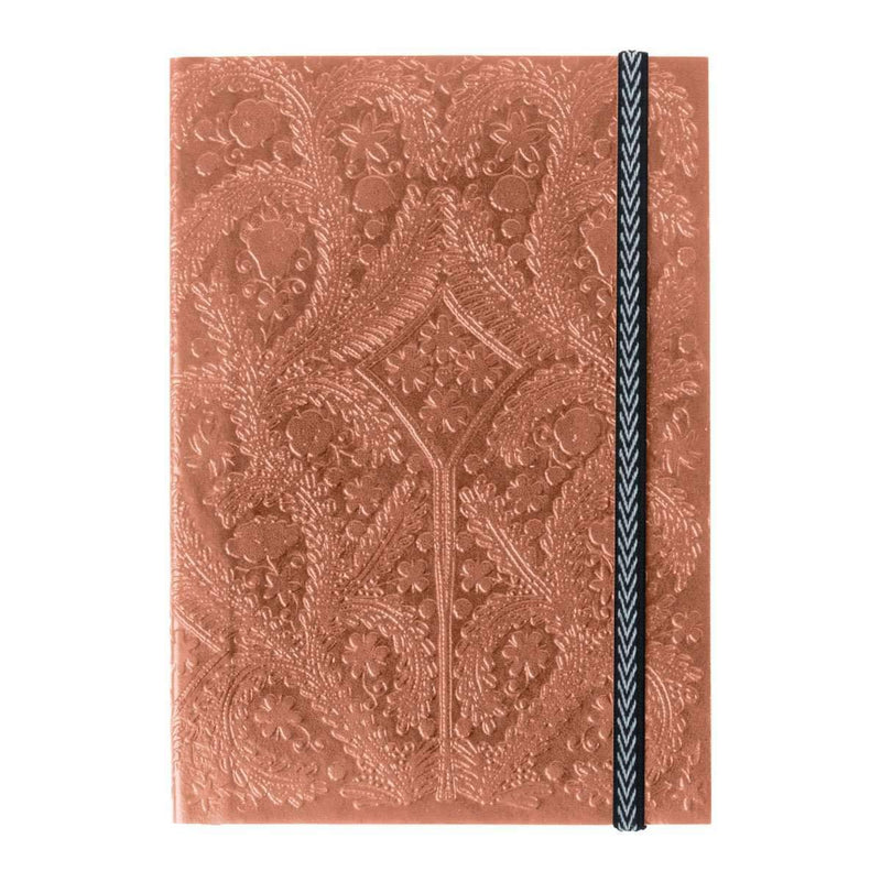 Sunset Copper Embossed Notebook Christian Lacroix Notebooks and Journals Christian Lacroix