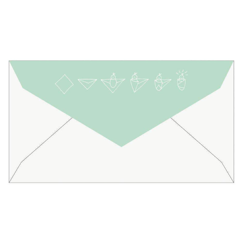 Swaddle Soiree Baby Shower Invite Notecards Baby Shower Cards Galison