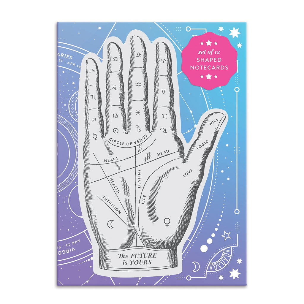 The Future is Yours Shaped Notecard Portfolio Greeting Cards Galison