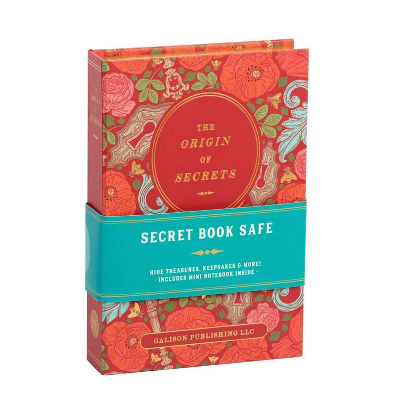 The Origin Of Secrets Book Safe Secret Book Safes Galison