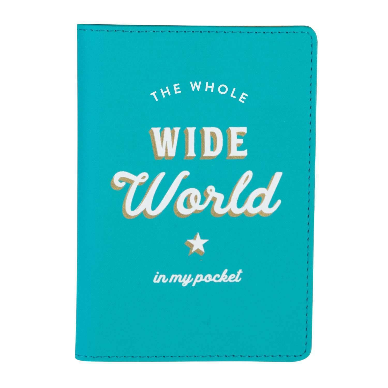 The Whole Wide World Passport Cover Travel Accessories Galison