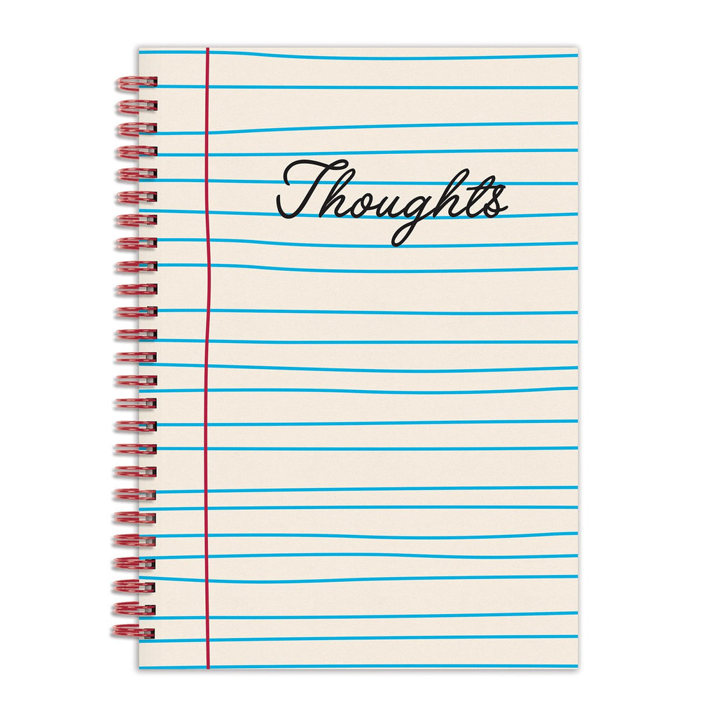 "Thoughts 6 x 8"" Wire-O Journal Journals and Notebooks Galison"