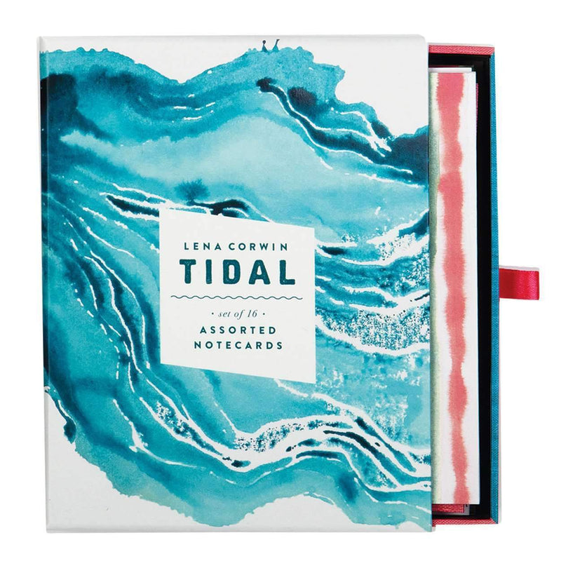 Tidal Greeting Assortment Greeting Cards Galison