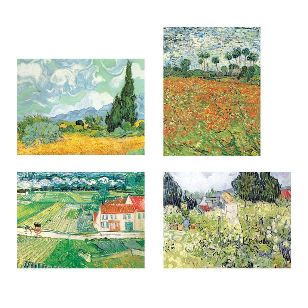 Van Gogh Countryside Note Card Portfolio Greeting Cards Galison