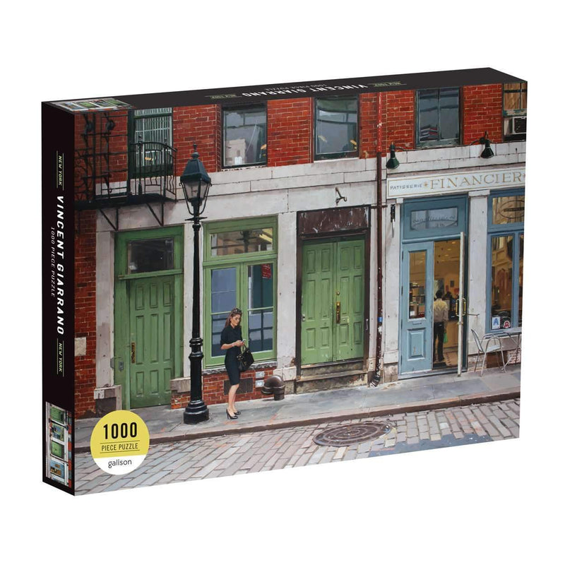 Vincent Giarrano: New York, New York 1000 Piece Puzzle 1000 Piece Puzzles Galison