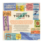 Vintage Travel Tickets 500 Piece Puzzle 500 Piece Puzzles Troy Litten Collection