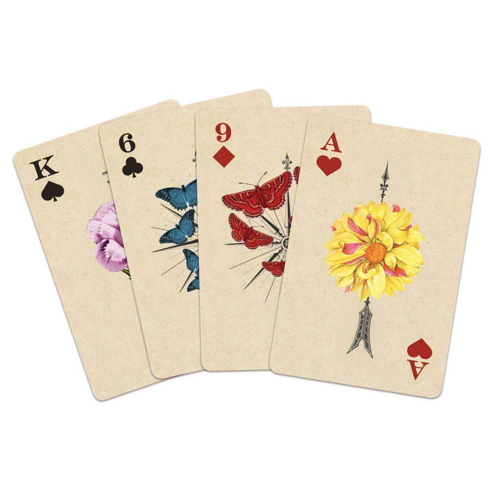 Wendy Gold Full Bloom Playing Cards Playing Cards Galison