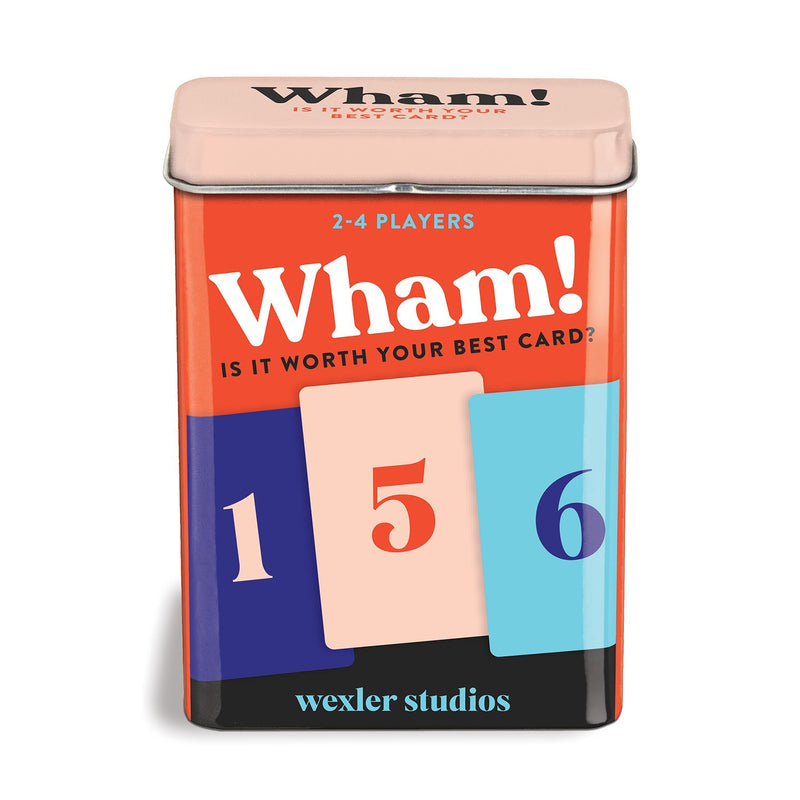Wham! Card Game Playing Cards Wexler Studios Collection