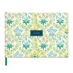 William Morris Celandine Guest Book Albums and Guest Books Galison